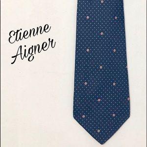 Etienne Aigner Pure Silk Tie